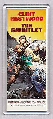 THE GAUNTLET large fridge magnet  CLINT EASTWOOD - CLASSIC COOL!
