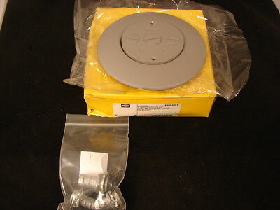 Hubbell Frf3Gy Scrub Shield Feed Cover And Flange Flush Fire Rated *Nib*
