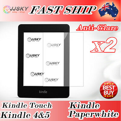 Amazon Kindle Touch 4 PaperWhite Ebook Reader Matte Anti Glare Screen Protector