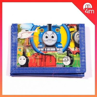 Kids Boys Girls Thomas The Tank Engine & Friends Percy Coin Purse Wallet