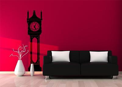 Wall Art sticker decal vinyl - Vintage Grandfather Clock, Edwardian, Victorian