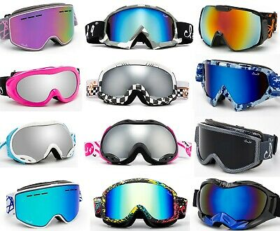 Professional Ski Goggles Winter Snow Anti Fog Dual Lens UV Protection Men Women
