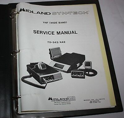 Midland LMR Syn-Tech VHF(Wide Band) Service Manual 70-342/442