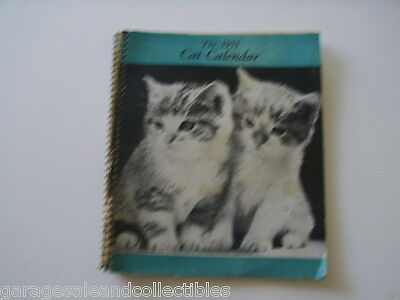 Vintage RARE 1955 The Cat Calendar with 56 Cat Masterpiece (c) 1955 by Chandoha