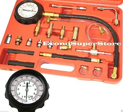 Fuel Pressure Injection Tester Oil Combustion Spraying Meter Guage Kit CP100020