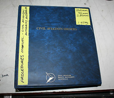 Civil Aviation Authority Australia Procedures Manual Civil Aviation Orders