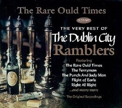 Dublin City Ramblers The Very Best Of - The Rare Ould Times 3 Cd Set
