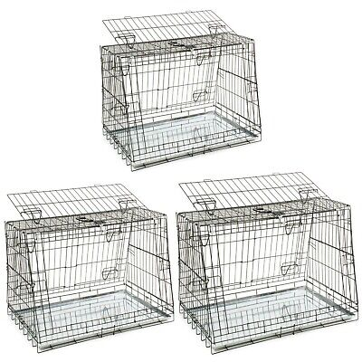 3 Door Car Cage Sloping Dog Crates for Hatchbacks/ Estates From Doggie Solutions