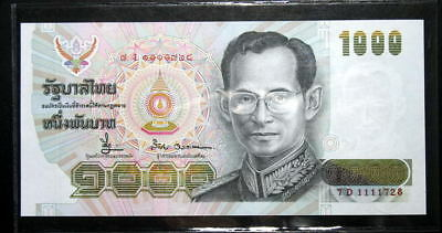 Thailand Banknote 1000 Baht Series14 P#92 SIGN#66