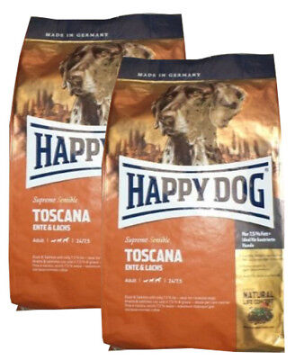 2x12,5kg Happy Dog TOSCANA Hundefutter ***TOP PREIS***