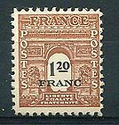 Stamp / Timbre De France Neuf 1945 Luxe N° 707 ** Type Arc De Triomphe