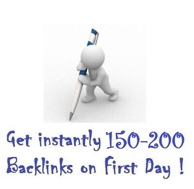 Rank in Google in 2 weeks with your Website! 200 Google Backlinks Instantly, SEO