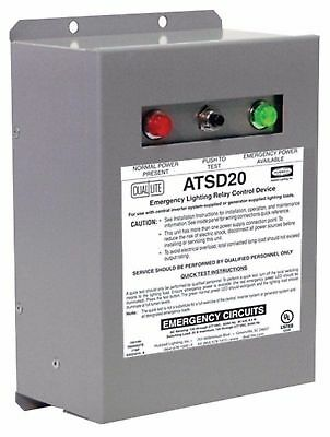 Dual-Lite ATSD20 20 Amp Surface Wall Auxiliary Transfer Switch