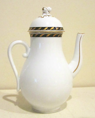 Herend Candlelight Black Coffee Pot First Edition