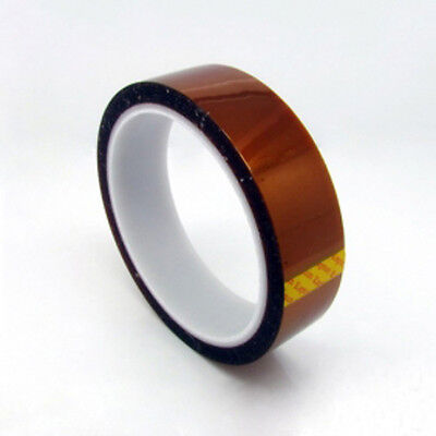 Brand New 25mm X 33M 1 Mil Kapton Polyimide Tape Heat Resistant
