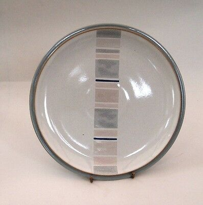 Denby  SPIRIT  ACCENT  8 inch Salad/Dessert Plate  known as  'LINE'  Set of 2