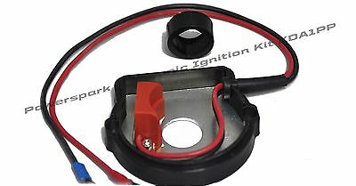 Lucas DK4A Distributor / Bacolite base-plate Positive earth electronic ignition