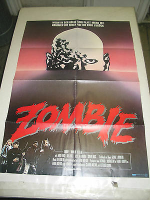 SUPER Rare European Dawn Of The Dead Movie Poster French ...
