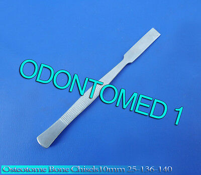 Osteotome Bone Chisels 10mm Surgical Orthopedic Instruments 25-136-140