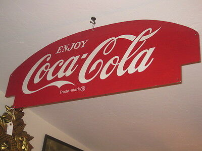 Vintage Coca Cola Metal Sign- LARGE