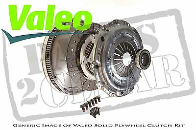 VW Transporter 2.5 Tdi T4 Solid Flywheel Clutch Kit Valeo 90 Bhp 98 - 03