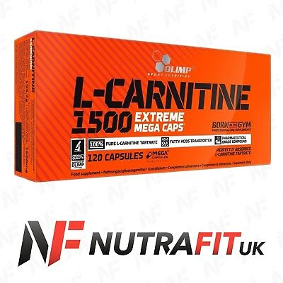 OLIMP L-CARNITINE 1500 EXTREME mega caps slimming diet fat burner weight loss