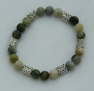 Connemara Marble Bracelet Irish Celtic