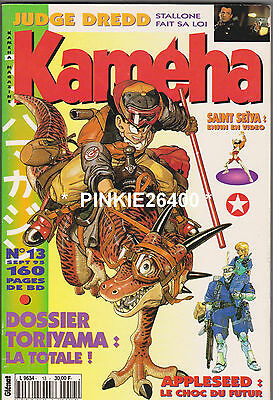 KAMEHA  n° 13 SEPT 95  EXC état 192 pages. RIOT - SAINT SEIYA-SANCTUARY....