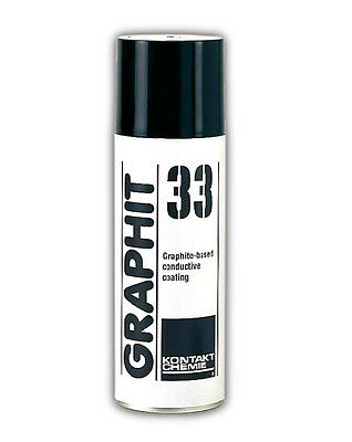 GRAPHIT 33 Spray rivestimento conduttivo alla grafite - 200ml