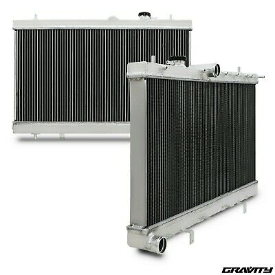 40mm ALUMINIUM RACE RADIATOR RAD FOR SUBARU IMPREZA GDA GDB WRX STI TURBO 03-07