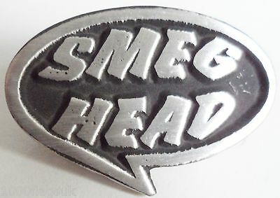 Smeg Head Red Dwarf Pin Badge - Hand Made in English Pewter