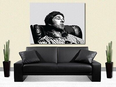 NOEL GALLAGHER - OASIS - PRINT ON CANVAS - Stylish Framed Wall Art -Choose Size
