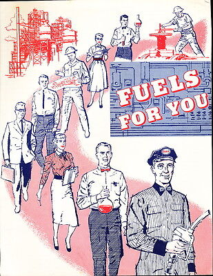 1958 Fuels for You Brochure by Esso Standard Oil Company