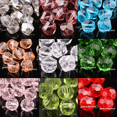100pcs 4mm Helix 5020 Austria Crystal Beads Loose Beads Jewelry Making