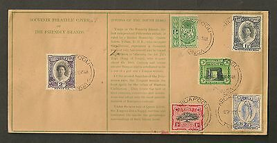 Tonga Tin Can Mail - 1945 Souvenir Philatelic Cover of The Friendly Islands