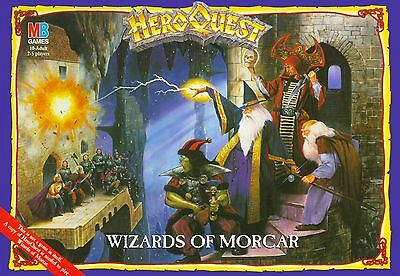 Heroquest Wizards of Morcar spare parts & tiles Hero Quest Maghi di Morcar