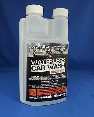 An Amazing 10 Bottle Waterless Car Wash Refill- Just Spray Wipe & Shine