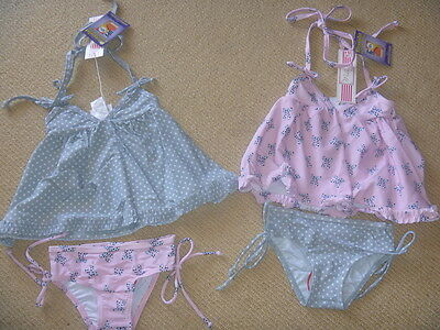 Girls Swimmers - Milly - 2 Types - 2 Peice - Size 0,1 And 2. Nwt