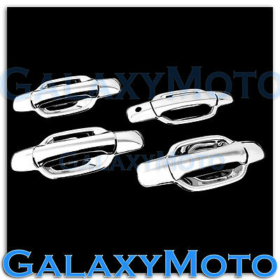 08-12 HONDA ACCORD Chrome plated Full ABS 4 Door Handle W//O PSG Keyhole Cover