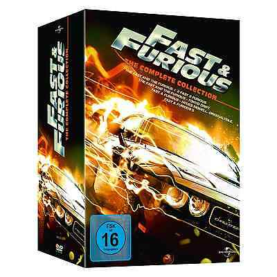 FAST&FURIOUS Complete Collection (Teil 1-5, 5 DVDs) Vin Diesel, Paul Walker OVP