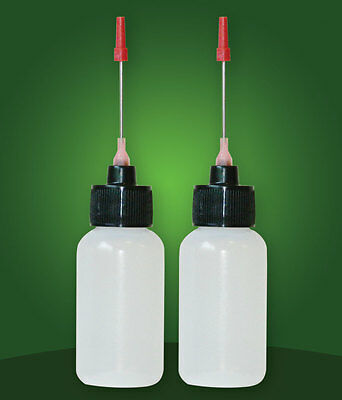 2-1 OZ bottles with stainless steel needle tip for All your Gun Oils
