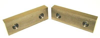 """RBF Products 5""""x 1 5/8""""x 3/4"""" Symmetrical Steel Soft Vise Jaws for Kurt 5"""" Vise"""