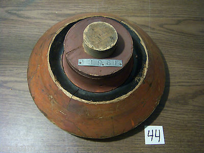 """Unusual Wood Foundry Industrial Pattern Mold 14"""" #1396E  (#44)"""