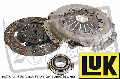 Ford Puma 1.7 16V Luk 3 Part Complete Clutch Kit Replace Full Set 1999-+ CSC
