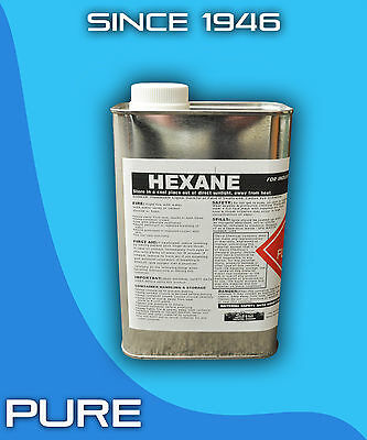 Hexane 1 Gallon Technical Grade Solvent Hexane (4 Quarts)