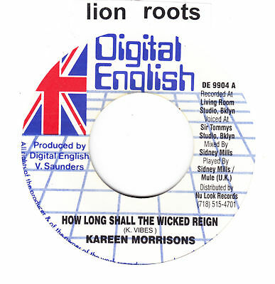 DIGI ROOTS- K. VIBES-HOW LONG SHALL THE WICKED REIGN ♫