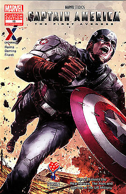 CAPTAIN AMERICA The First Avenger Military Issue AAFES Exclusive Comic Book #12