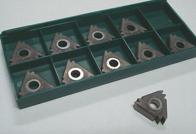 TOOL FLO Carbide Threading Inserts 27NR 8NPT 2M AT50 Qty 10 [835]