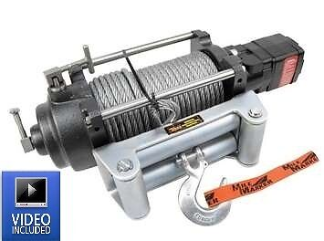 Mile Marker 70-52000C - H12000 Hydraulic Winch (2-Speed) 12,000 Pounds