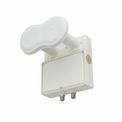 Ku Band Monoblock 4-Degree Twin Dual Universal Linear LNBF 0.2db FTA LNB HD